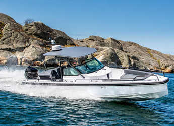 Chartern Sie motorboot in Marina Skiathos  - Axopar 28 T-Top