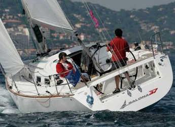 Chartern Sie segelboot in Paroikia - Salona 37