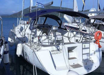 Rent a sailboat in Marina Paleros - Oceanis 43