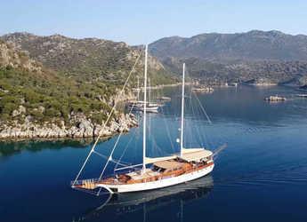 Alquilar goleta en Antalya - Gulet Arabella