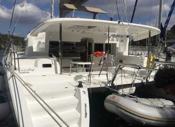 Rent a catamaran in Zaton Marina - Lagoon 450 - 4 + 2 cab.