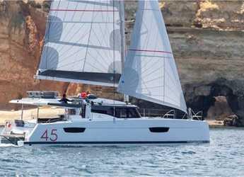 Chartern Sie katamaran in Marina Kornati - Elba 45 (3cab)