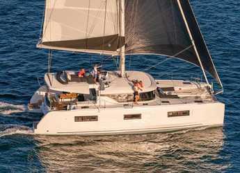 Chartern Sie katamaran in Trogir (ACI marina) - Lagoon 46 Fly