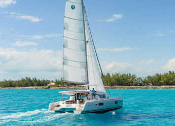 Rent a catamaran in Sami - Lagoon 42 A/C & GEN.