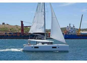 Rent a catamaran in Rhodes - Lagoon 42 A/C & GEN.