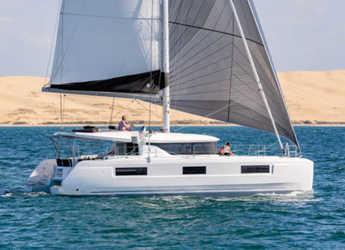 Rent a catamaran in Rhodes - Lagoon 46 A/C & GEN & WM