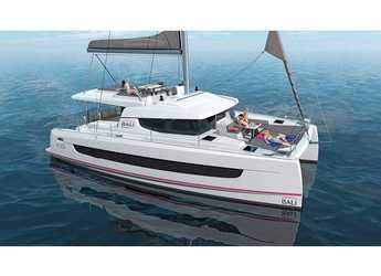 Rent a catamaran in Rhodes - Bali 4.6 A/C & GEN & WM