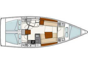 Chartern Sie segelboot in ACI Marina Skradin  - Hanse 385