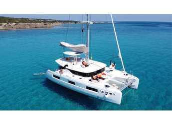 Rent a catamaran in Naviera Balear - Lagoon 46 Amanaci