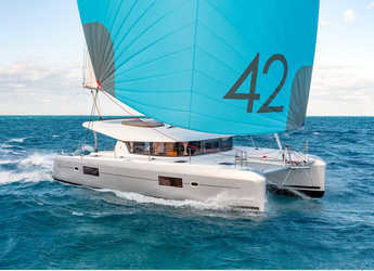 Chartern Sie katamaran in Tradewinds - Lagoon 42 - 3 + 1 cab.