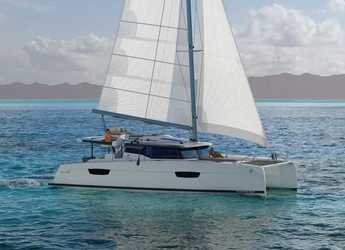 Chartern Sie katamaran in Puerto del Rey Marina - Fountaine Pajot Saona 47 (Quintet) - 5 + 1 cab.