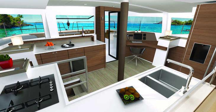 Rent a catamaran in Palm Cay Marina - Bali 4.6 - 5 + 1 cab.
