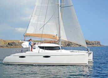 Rent a catamaran in Palm Cay Marina - Mahe 36 - 3 cab.