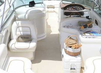 Rent a motorboat Sea Ray 280 Bow Rider in Marina Botafoch, Ibiza (city)