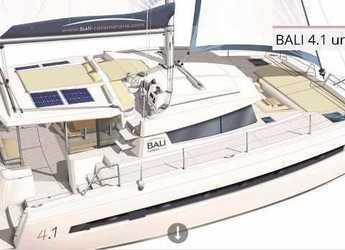 Rent a catamaran in Key West, FL - Bali 4.1 - 4 + 2 cab.