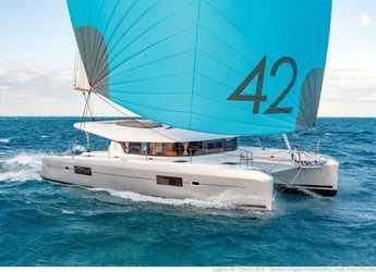 Rent a catamaran in Key West, FL - Lagoon 42 - 3 + 1 cab.