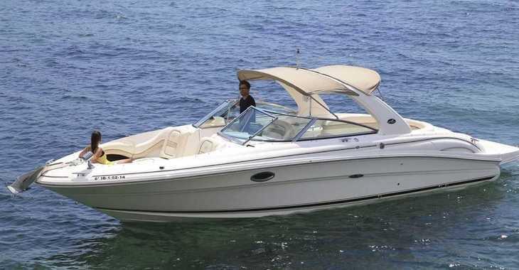 Alquilar barco a motor Sea Ray 290 Bow Rider en Marina Botafoch, Ibiza (ciudad)