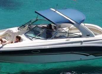 Rent a motorboat Sea Ray 290 Bow Rider in Marina Botafoch, Ibiza (city)