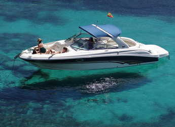 Rent a motorboat in Marina Botafoch - Sea Ray 290 Bow Rider