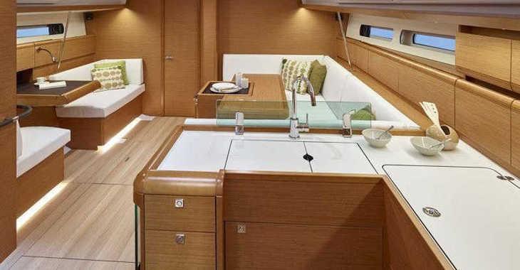 Rent a sailboat in Paros - Sun Odyssey 519 A/C & GEN