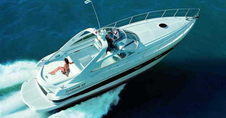 Alquilar yate  Pershing 37 en Marina Botafoch, Ibiza (ciudad)
