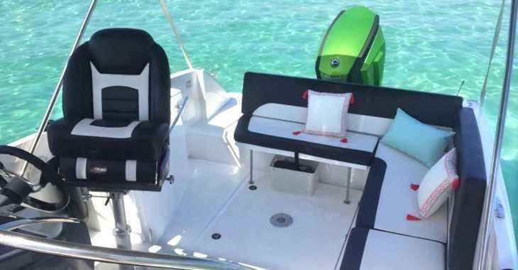 Alquilar barco a motor Galia 700 Sundeck en Marina Botafoch, Ibiza (ciudad)