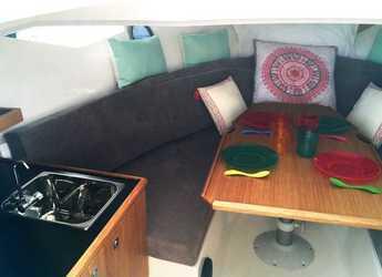 Rent a motorboat Galia 700 Sundeck in Marina Botafoch, Ibiza (city)