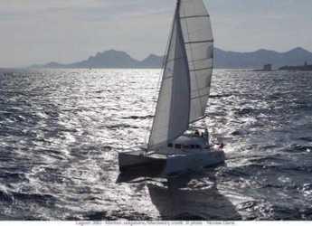 Chartern Sie katamaran in Club Náutico Ibiza - Lagoon 380 S2