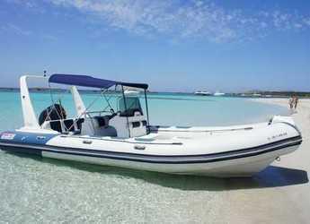 Chartern Sie schlauch-/beiboot in Club Náutico Ibiza - Valiant 750 Cruiser