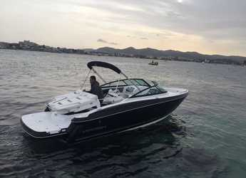 Rent a motorboat in Marina Ibiza - Monterey 244 FS