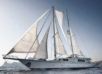 Rent a schooner in Marina Ibiza - 147' (Abeking y Rasmussen / André Mauric)