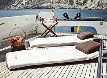 Alquilar goleta 147' (Abeking y Rasmussen / André Mauric) en Marina Ibiza, Ibiza (ciudad)