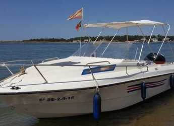 Rent a motorboat in Isla Cristina - LEMA Sabinal 190
