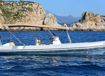 Rent a dinghy in Port Adriano - Picton Cobra Rib