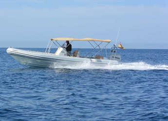 Chartern Sie motorboot Cobra Rib 8m in Port Adriano, Calvia