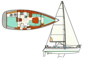 Alquilar velero Oceanis 361 en Marina Ibiza, Ibiza (ciudad)