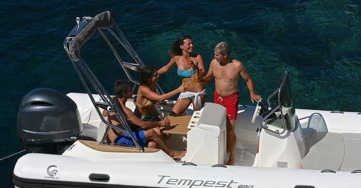 Alquilar lancha Capelli tempest 650 en Marina Ibiza, Ibiza (ciudad)