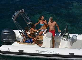 Rent a motorboat Capelli tempest 650 in Marina Ibiza, Ibiza (city)