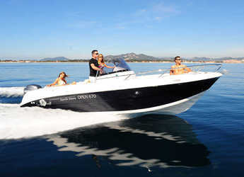 Rent a motorboat in Club Naútico de Sant Antoni de Pormany - Pacific Craft 670 Open
