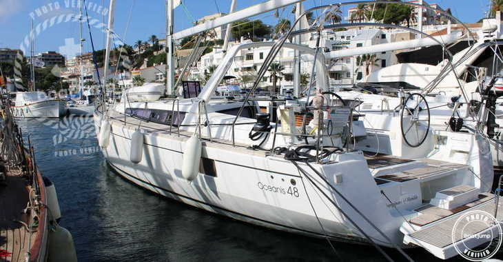 Rent a sailboat in Port Mahon - Beneteau Oceanis 48