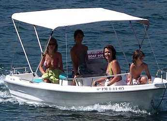 Rent a motorboat Estable 415 in Port d'andratx, Andratx