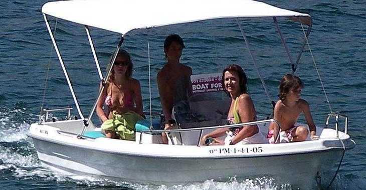 Rent a motorboat in Port d'andratx - Estable 415