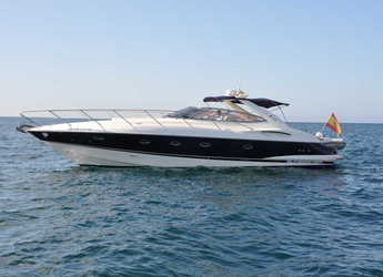 Rent a yacht in Port Adriano - Sunseeker Camargue 44