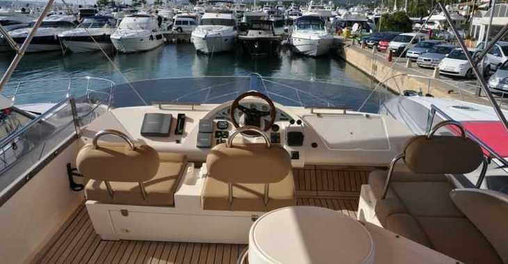 Alquilar yate Fairline Phantom 50 en Marina Port de Mallorca, Palma de mallorca