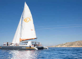 Rent a catamaran in Naviera Balear - Catamarán