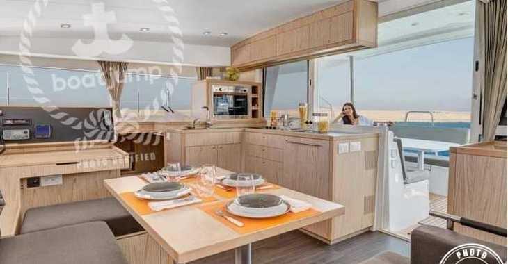 Alquilar catamarán Lagoon 400 S2 en Club Naútico de Sant Antoni de Pormany, Sant antoni de portmany