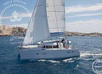 Chartern Sie katamaran Lagoon 400 S2 in Club Naútico de Sant Antoni de Pormany, Sant antoni de portmany