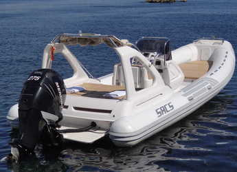 Rent a dinghy in Marina Botafoch - Sacs Dream Luxe 25