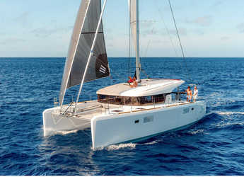 Rent a catamaran in San Blas tours panama - Lagoon 39