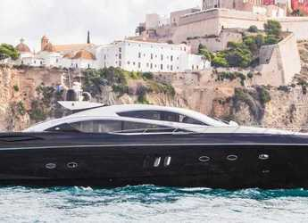 Rent a yacht in Ibiza Magna - Sunseeker Predator 82